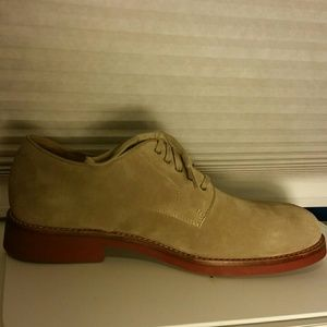 Polo Ralph Lauren Suede Leather Oxford. 10D